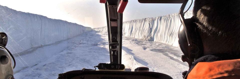 Icetrek Polar Logistics Flight