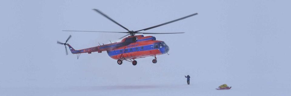 Icetrek Polar Logistics Helicopter