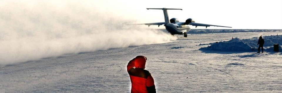 Icetrek Polar Logistics Runways