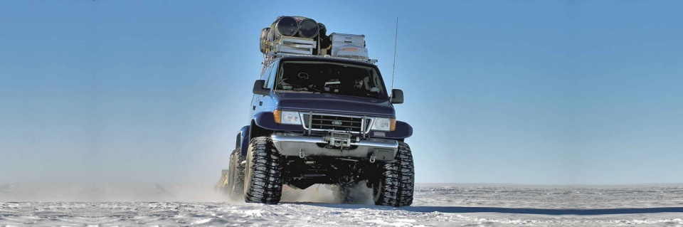 Icetrek Polar Logistics Vehicles