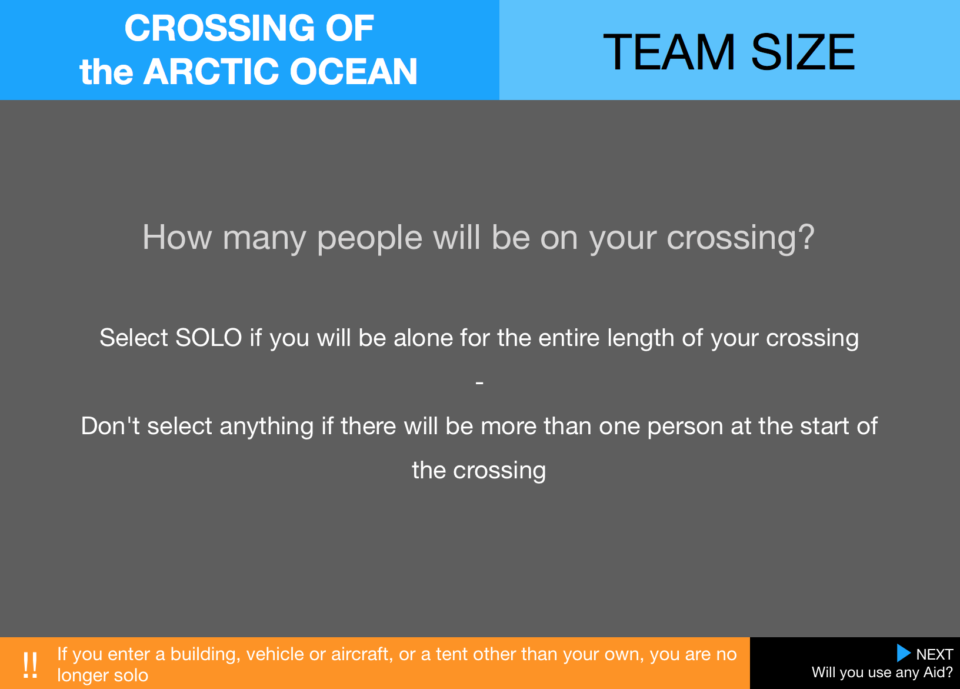1  Pecs Crossings Team Arctic Ocean