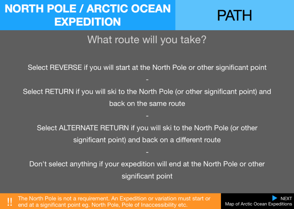 4  Pecs Expedition Path Arctic Ocean