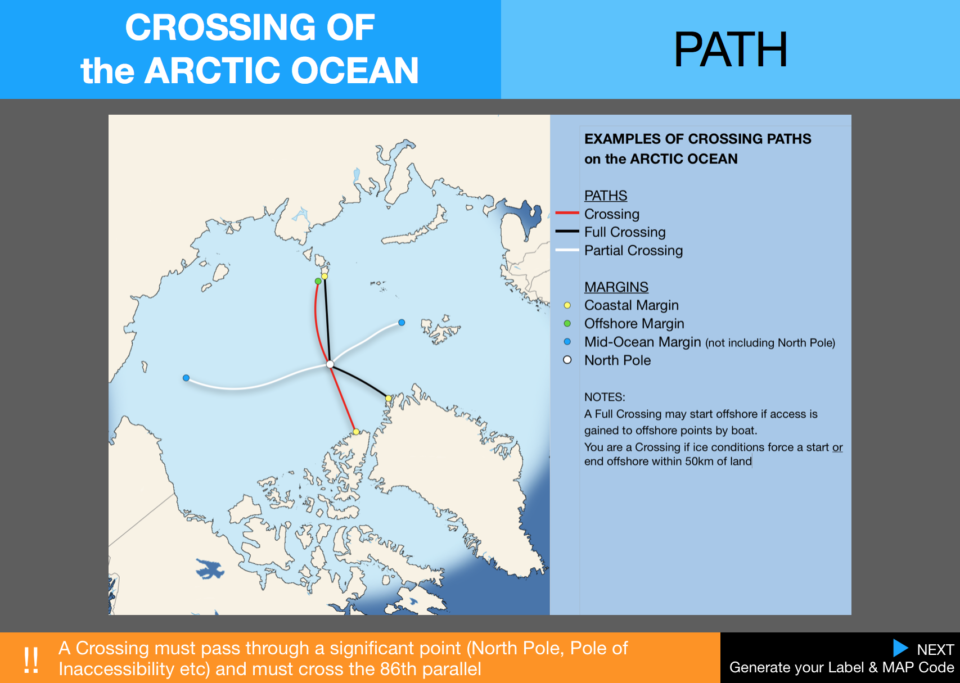 6  Pecs Crossings Path Arctic Ocean Map