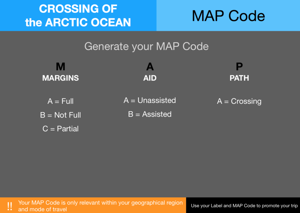 7  Pecs Crossings Map Code Arctic Ocean