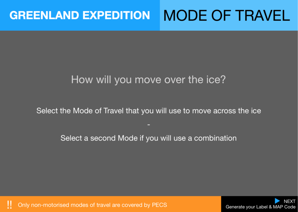 7  Expedition Greenland Mode