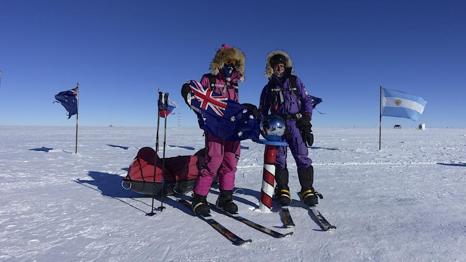 Icetrek-Flexi-Ultima-System South Pole