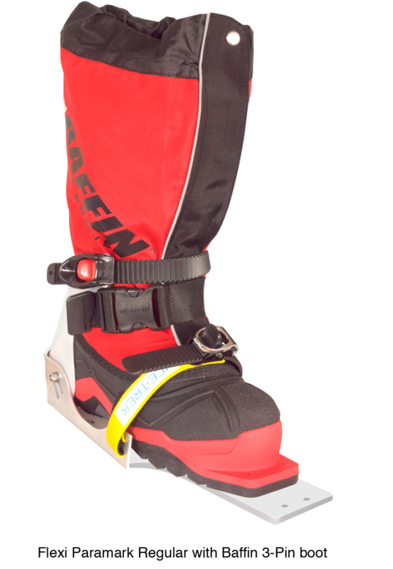 Icetrek Paramark Regular Ski Bindings Baffin 3 Pin
