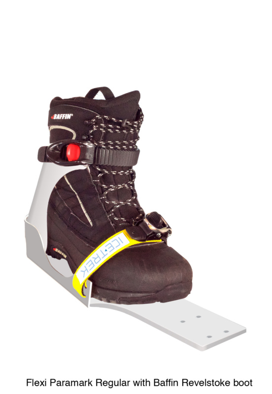 Icetrek Paramark Regular Ski Bindings Baffin Revelstoke