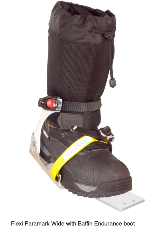 Icetrek Paramark Wide Ski Bindings Baffin Endurance