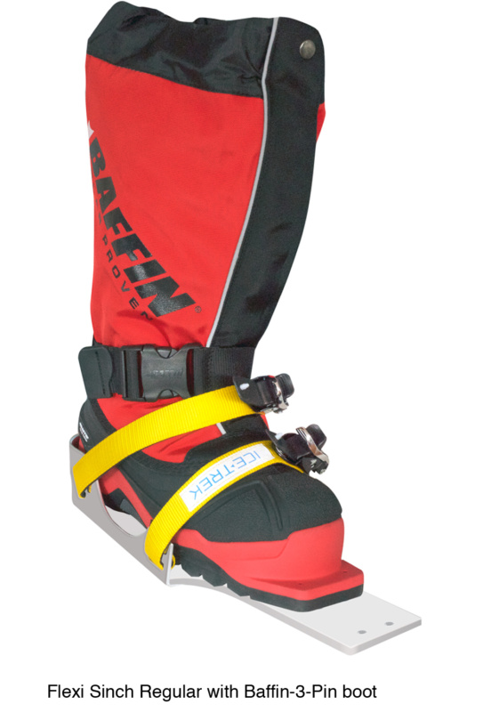 Icetrek Sinch Regular Bindings With Baffin 3 Pin Boot
