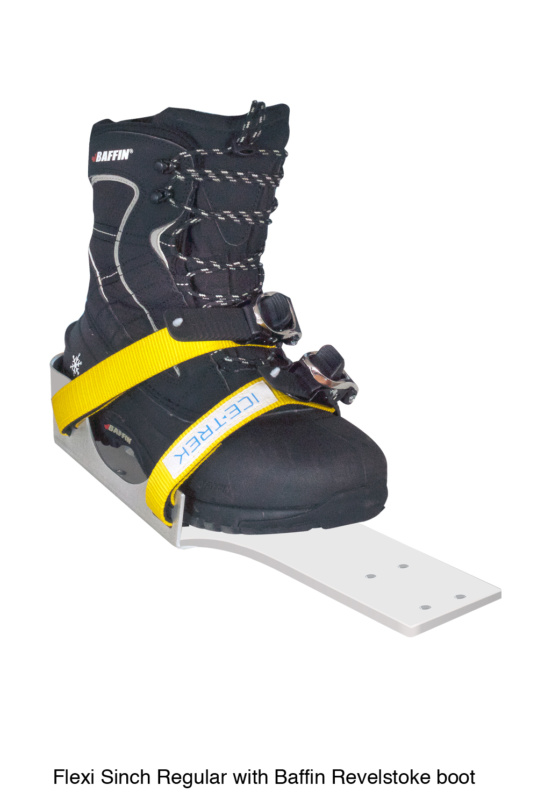 Icetrek Sinch Regular Bindings With Baffin Revelstoke Boot