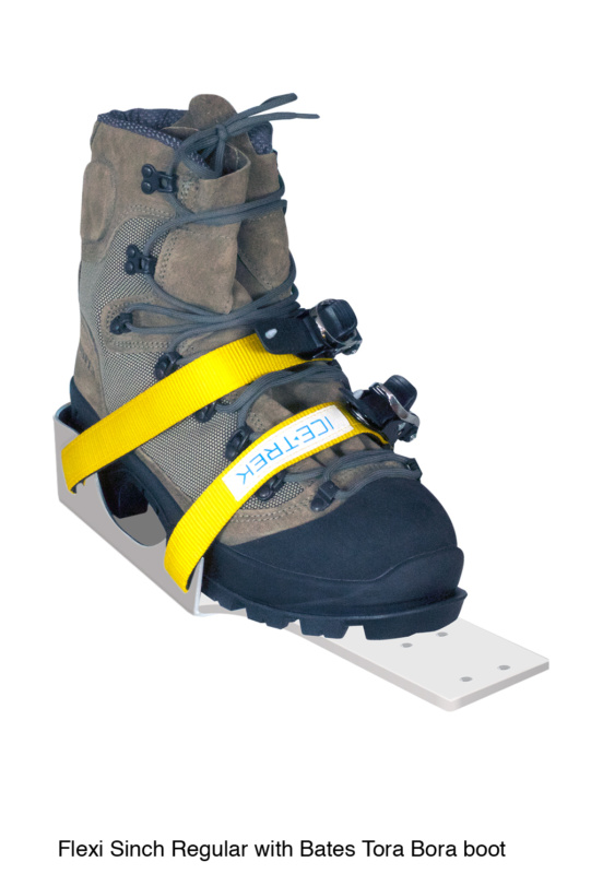 Icetrek Sinch Regular Ski Bindings With Bates Tora Bora Boot