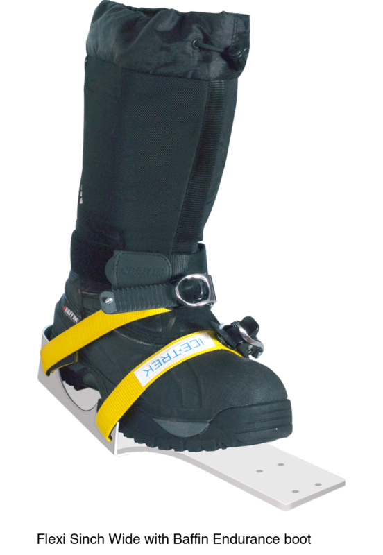 Icetrek Sinch Wide Ski Bindings With Baffin Endurance Boot