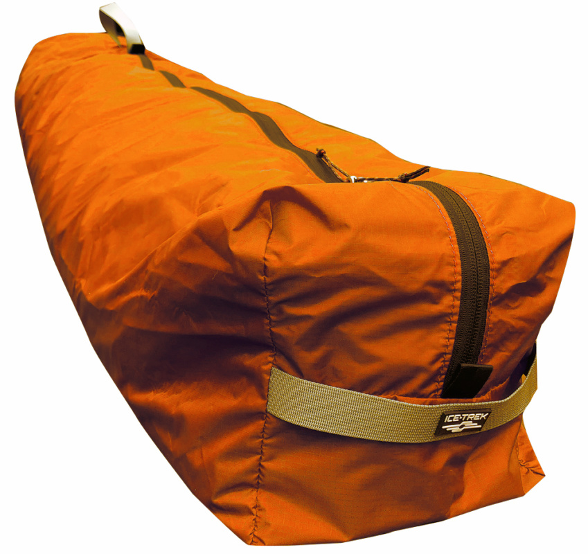 Icetrek Tent Bag Nylon Front Orange
