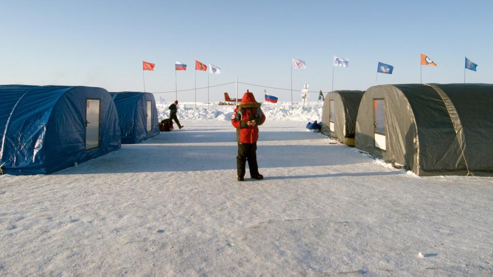 Icetrek Barneo Ice Camp Tents