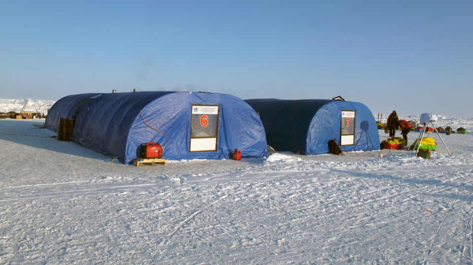 Icetrek North Pole Barneo Tents