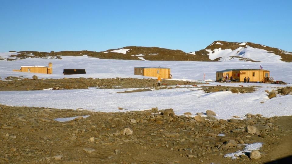 Icetrek Oasis Guesthouse Buildings