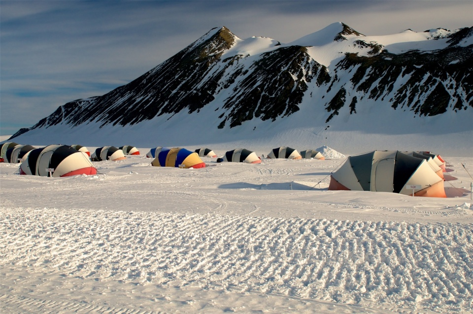 Icetrek Union Glacier Camp In Antarctica
