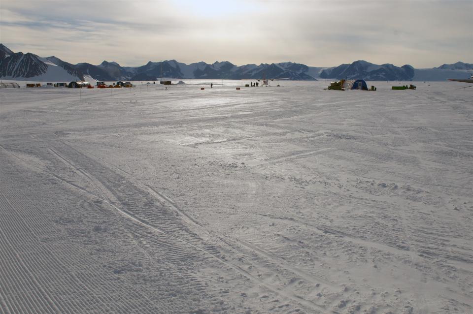 Icetrek Union Glacier Camp Runway