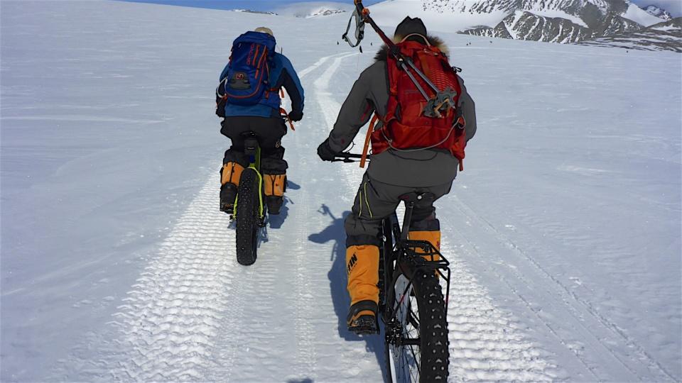 Icetrek Union Glacier Fatbike