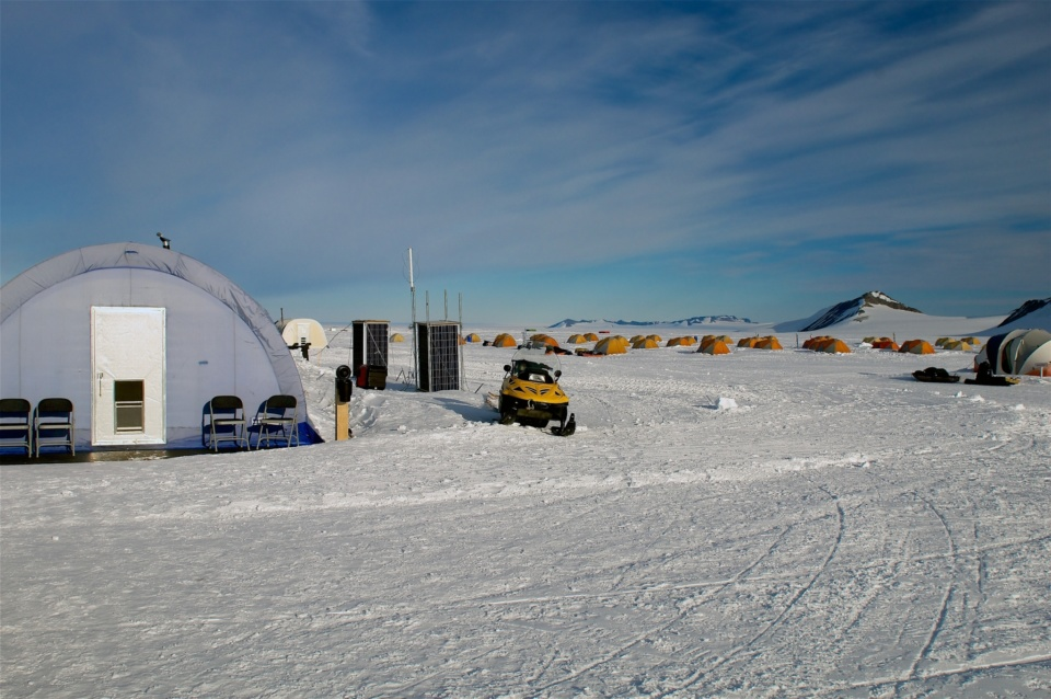 Icetrek Union Glacier Tents