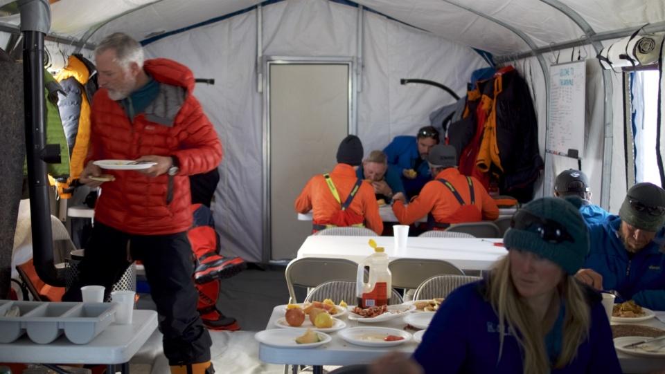 Icetrek South Pole Camp Interior