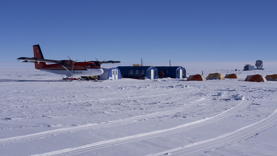Icetrek South Pole Camp And Twin Otter