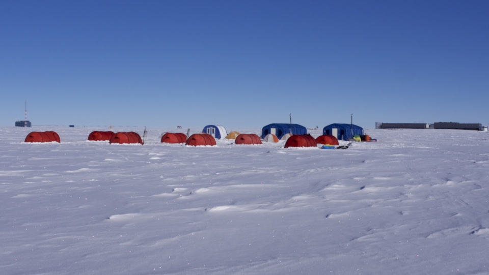 Icetrek South Pole Camp Tents