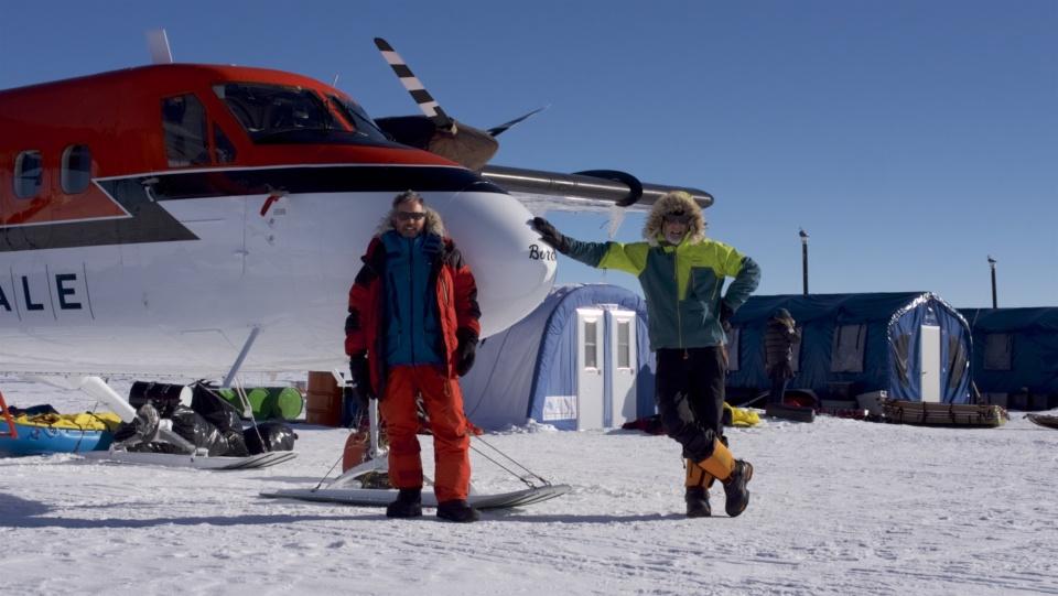 Icetrek South Pole Camp Visitors