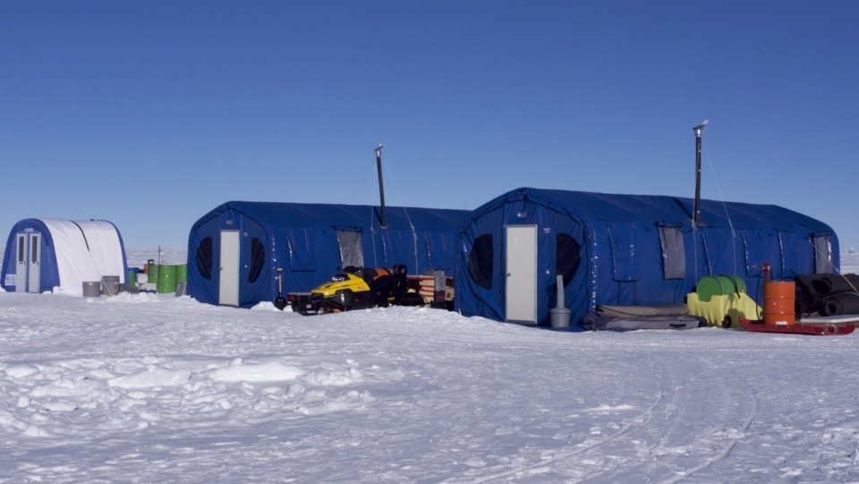 Icetrek South Pole Camp