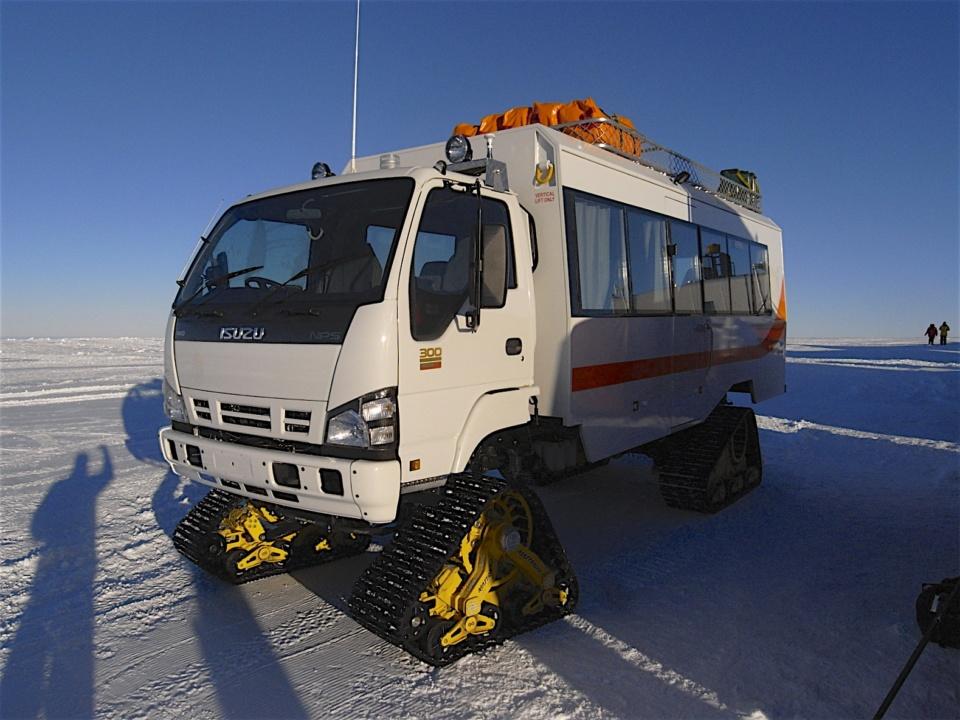 Icetrek Priscilla Bus Antarctica