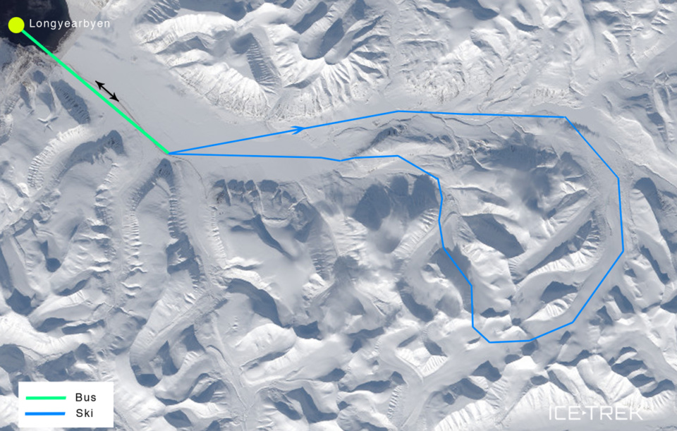 Icetrek Svalbard Map Training
