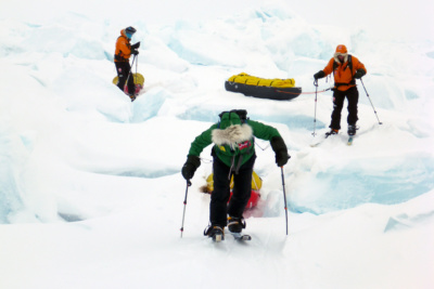Icetrek-North-Pole-Exped-pressure-ridge.